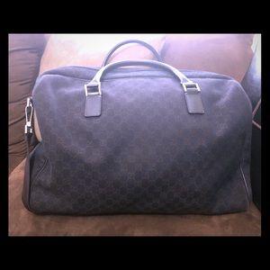 Gucci Monogram Duffle Bag